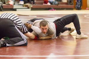 Fairhaven Baptist College Men's Intramural Wrestling 2016 (12 of 13)
