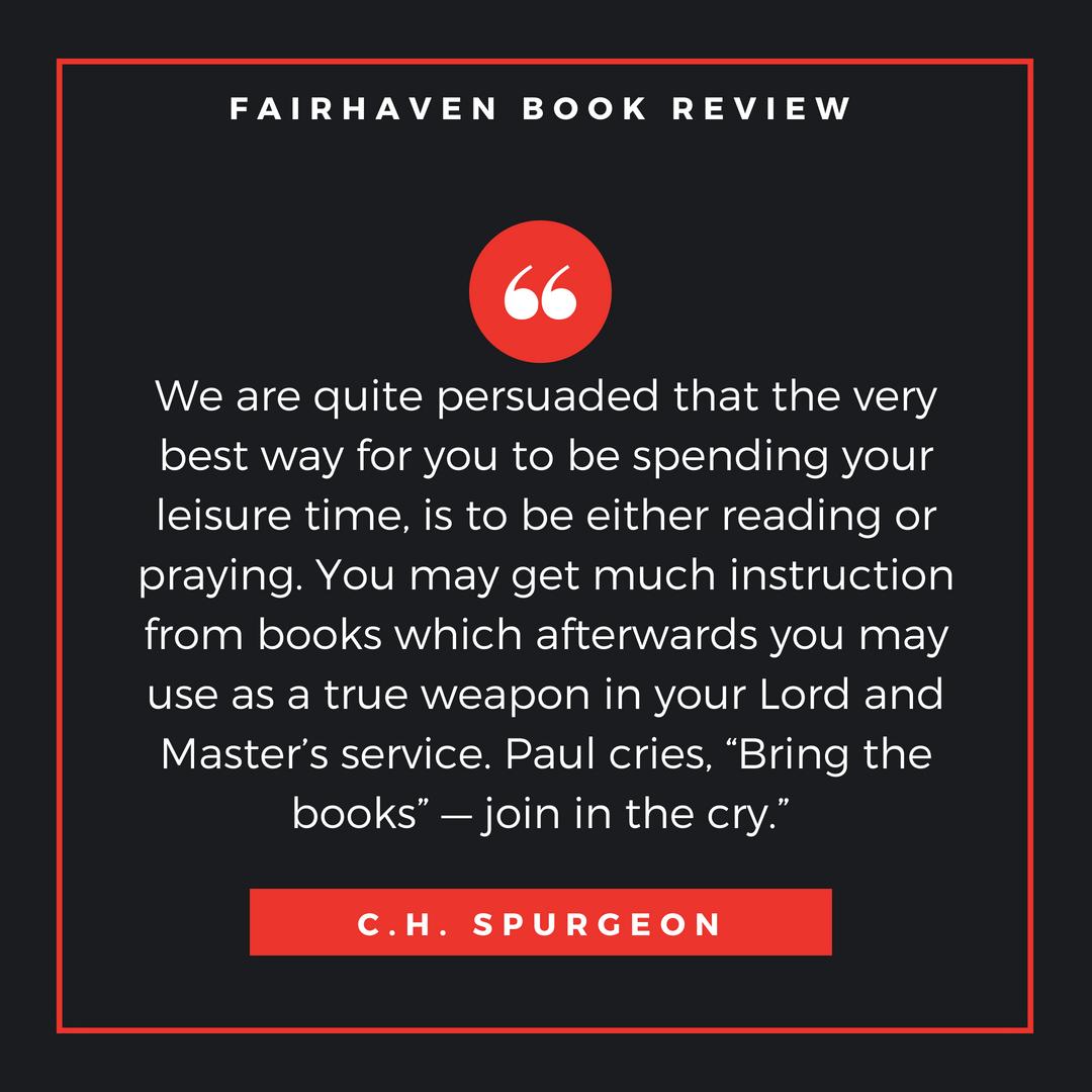 NEW!! FAIRHAVEN Book Reviews